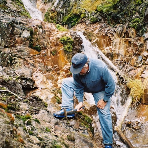 The Cardiac Creek showing in 2005 during site visit by Don MacIntyre