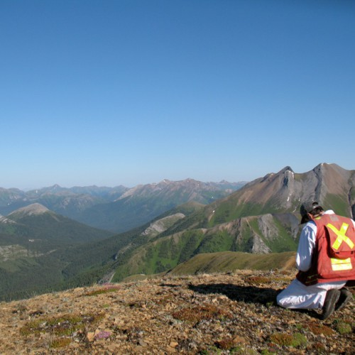 Mapping and prospecting on the Cirque East property