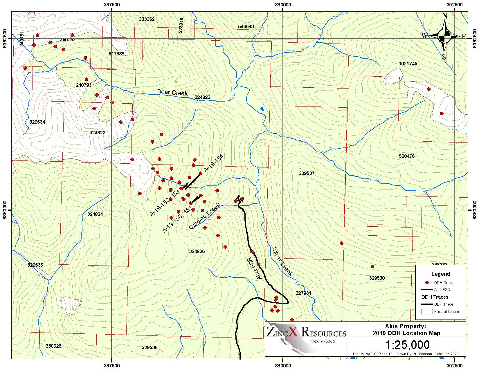 Planview Map with the 2017 Drilling